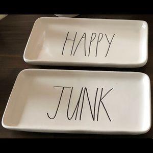 Rae Dunn Happy & Junk trays!