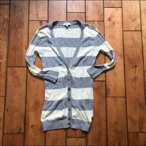 Small Forever 21 Striped Cardigan