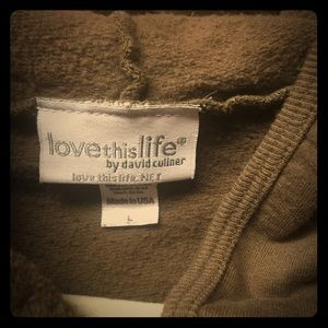 Love this Life hoody.  S, m, L. Read