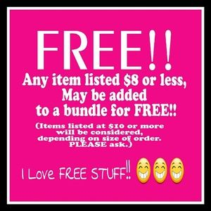 WOW!! LETS SHOP! FREEBIES AND 30%OFF!!