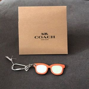 Authentic Coach Sunglasses Keychain