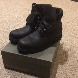 Timberland 6inch Premium Black Boots Size 11