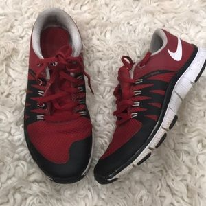 Nike Red boys 5.0 flywire
