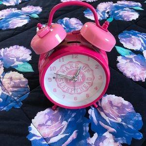 PINK Victoria's Secret Alarm Clock