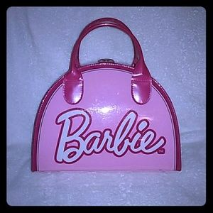 Barbie cosmetic bag tote