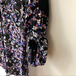 EXPRESS Sheer Portofino Shirt (S)