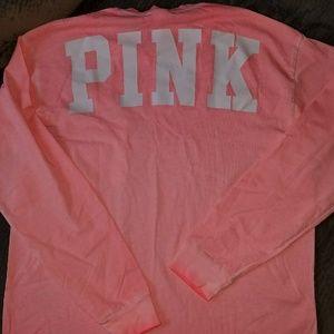 NWT Victoria's Secret PINK longsleeve tee
