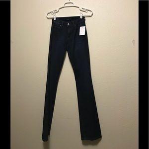 Joe's the honey curvy bootcut blue jeans size 23