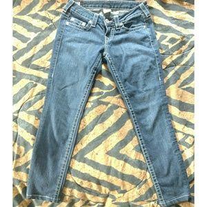 True Religion skinny jeans 26