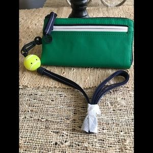 New Authentic Tory Sport Canvas Lanyard