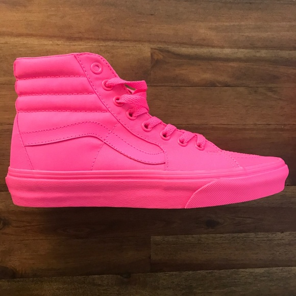 7fc79fa611 Hot pink Sk8 Hi Vans. M 5a315f0eea3f36f9a0012384. Other Shoes ...