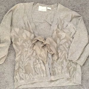 Anthropologie wool cardigan