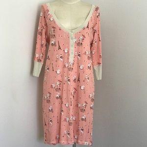 Munki Munki Parisian Hippos Pajamas Nightgown