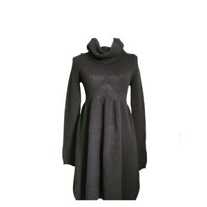 Vince Cowlneck Sweater Dress