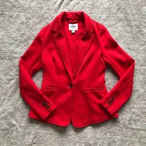 Old Navy Blazer One Button Sz Sm Red