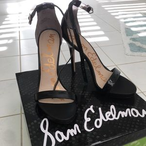 Sam Edelman heels worn once Size 8