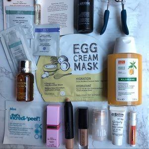 15 pc NWT Makeup/Skincare stocking stuffer bundle