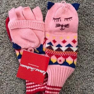 Hanna Anderson Convertible Mittens