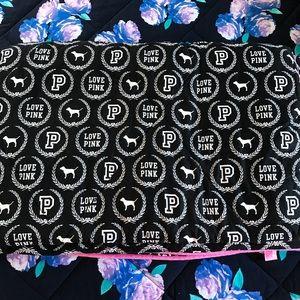 PINK Victoria's Secret Monogram Comforter