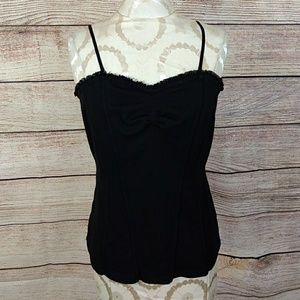 White House Black Market fitted camisole L