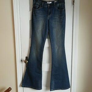 Jessica Simpson Dreamer Skinny Flair Jeans