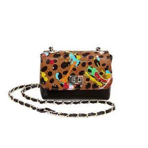 Steve Madden calf hair purse (cheetah/leopard)