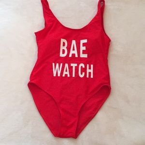 Bae Watch swimming suit