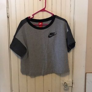 Nike (almost) crop top