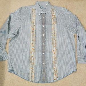 Tommy Bahama denim long sleeve dress shirt