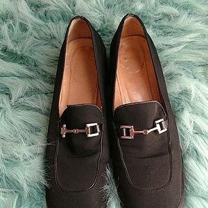 Vintage Gucci Horse Bit Buckle Shoes