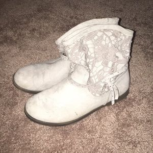 Justice girls lace boots