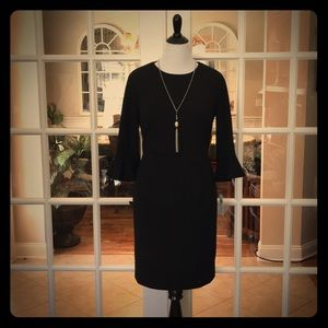 🆕 (PLUS) Donna Morgan Navy Dress with 2/3 Sleeves