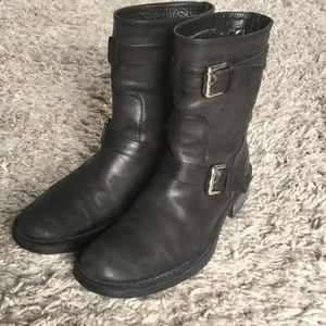Industria Nazionale Short Leather Boots Size 7