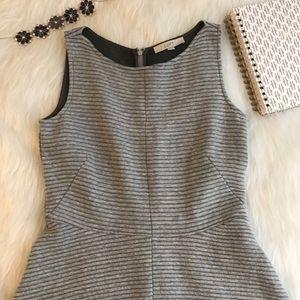 Loft Gray Dress Size 6