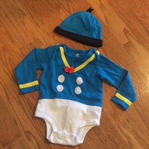 Donald Duck Costume Bodysuit for Baby 18-24 M