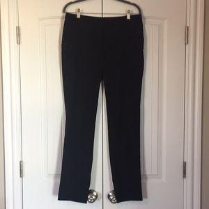 h&m black dress pants