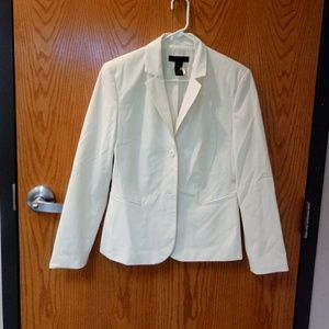 Off White/cream colored Suit Jacket