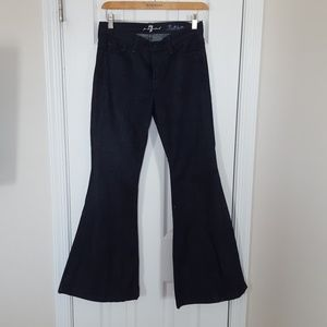 7 for all mankind Bellbottom dark blue wash S 26