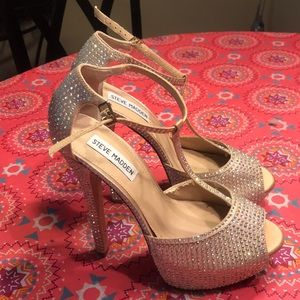 Steve Madden Bedazzled Pumps