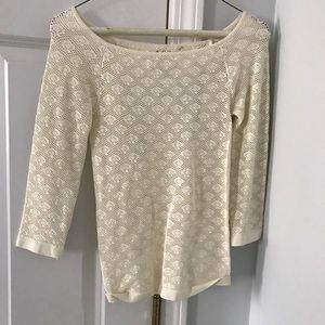 Intimately Free People Ivory Lace Top