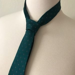 vintage emerald green tie