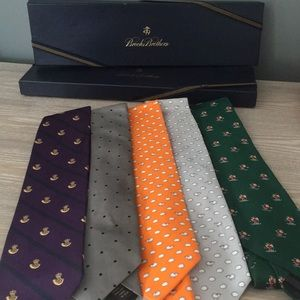 NWT Brooks Brothers Ties