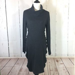 Calvin Klein Gray Sweater Dress Size Large