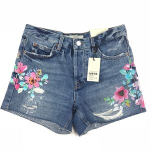 Topshop Ashley Ultimate Vintage Mid-Rise Shorts