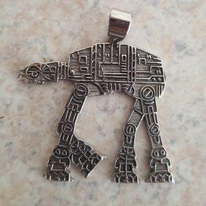 Star Wars AT-AT necklace charm