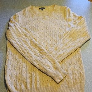 J crew camel color men's sweater
