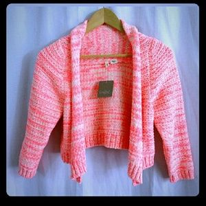 ❄Anthropologie {MOTH} Neon Cardy❄