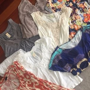 8 Tops from Anthropology