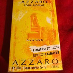 Azzaro Pour Homme Men's Cologne NIB 3.4 Oz