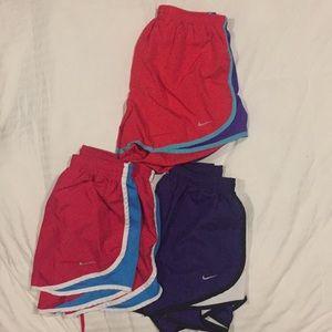 Lot of Nike shorts